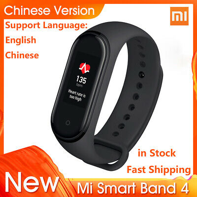 "2019 Xiaomi Mi Band 4 Smart Bracelet 0.95""Color AMOLED Screen Wristband in Stock"