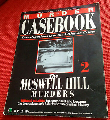 Murder casebook no.2 The muswell hill murders collectable magazine