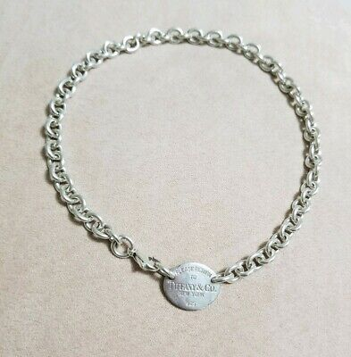 08f20be52 Please Return to Tiffany & Co Oval Tag 15