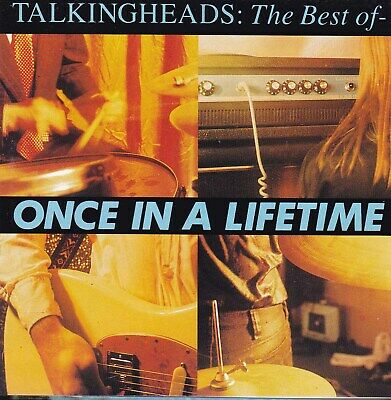 TALKING HEADS The Best Of / Once In A Lifetime CD   SirH70