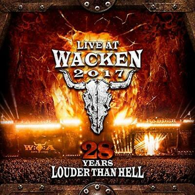 Live At Wacken 2017 - 28 Years Louder Than Hell - New 2CD + 2 DVD Album