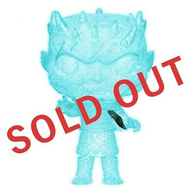 Funko Game of Thrones Night King Dagger Glow in the Dark HBO Exclusive Confirmed