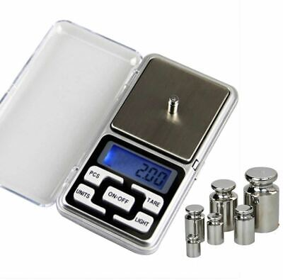 Mini Pocket Digital Scale for Gold Sterling Silver Jewelry Scales Balance Gram E