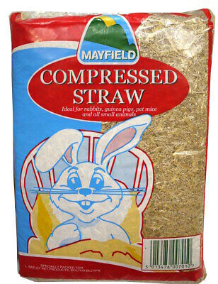 Mayfield Compressed Straw Large Small Animal Bedding Damaged 1.3KG