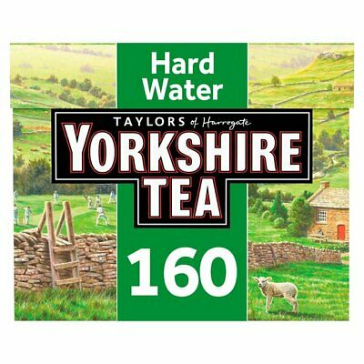 Yorkshire Hard Water Teabags 160 per pack