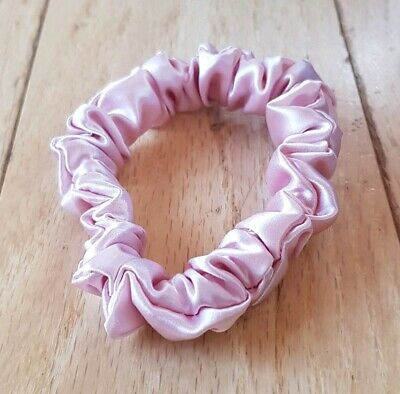 NEW Slip Silk Midi Hair Scrunchie / Tie / Bobble in Pink