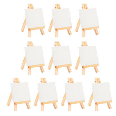 24cm Mini Wooden Cafe Table Number Easel Wedding Place Name Card Holder Stand