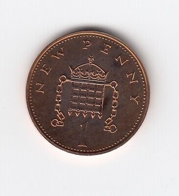 "1972 ONE PENNY 1p "" POOF "" 1p Extremely Nice Collectable 1p Piece  (1832)"