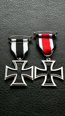 Collectable set WW1 WW2 German Iron Cross Eagle military medals