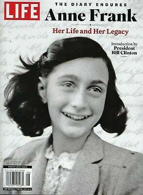 LIFE Special~ Anne Frank~The Diary Endures~Her Life & Her Legacy 2019 NEW
