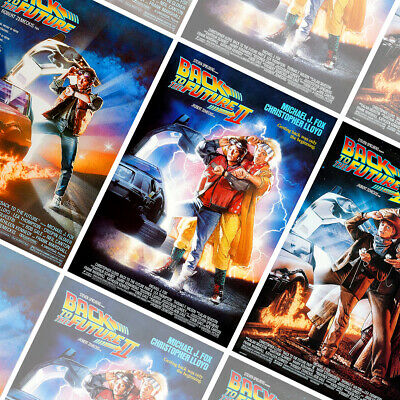 BACK TO THE FUTURE Part 1 2 3 Posters Bundle - 3x Prints - Size A2