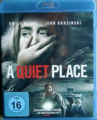 A QUIET PLACE - Blu-ray Disc, Emily Blunt  HORROR-THRILLER