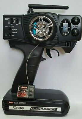 2.4GHz 2-Channel, 2CH Radio System With Receiver RC Car/Boat Transmitter