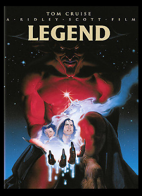 Legend (1985) DVD, Tom Cruise, Tim Curry, Mia Sara (New, Sealed, All Region)