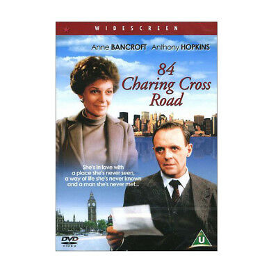 84 Charing Cross Road (1987) DVD Anne Bancroft, Anthony Hopkins (All Region)
