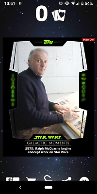 Topps Star Wars Card Trader - Galactic Moments - Complete Set - Digital
