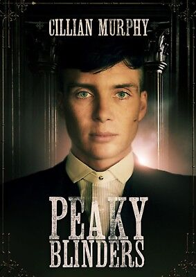 Peaky Blinders Tv Series Cillian Murphy Glossy Wall Art Poster (A1 - A5 Sizes)