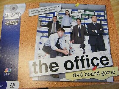 The Office dvd board game  by NBC for Adults, a trivia challenge for 2-6 players