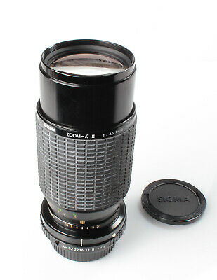 SIGMA ZOOM macro 70-210mm F4.5 K2 Lens For Pentax