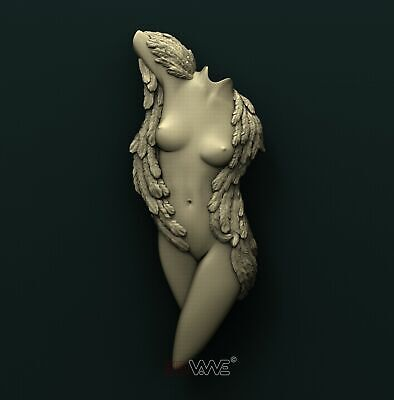 3d STL Model Relief for CNC Router _ Angel _0008