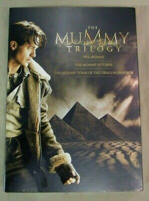 The Mummy Trilogy New DVD 3 Pack - Mummy - Mummy Returns - Tomb Dragon Emperor
