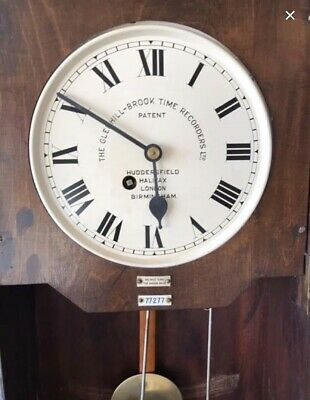 Glenhill Brook Time Recording Clock