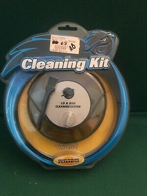 Universal CD DVD GAMES AND LENS Cleaning System For Dirty Discs New Pelican
