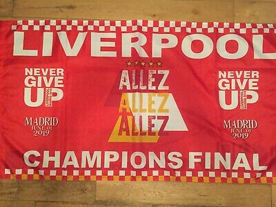 Liverpool Fc Large Champions League Final Flag
