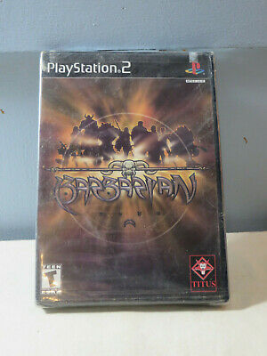 Sony PS2 Playstation 2 Barbarian Factory Sealed