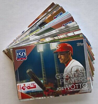 2019 Topps Series 2 150 YEARS OF BASEBALL GREATEST PLAYERS Inserts (Pick)