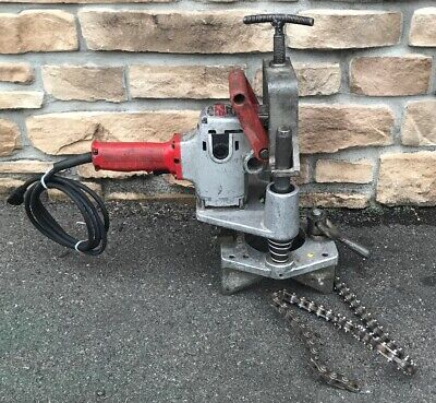 Victaulic VHCT-900 T-Drill Hole Cutting Pipe Drill Ridgid Rigid 300 #4