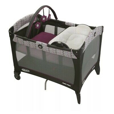 Graco Pack 'N Play Playard with Reversible Napper and Changer, Nyssa, One... New