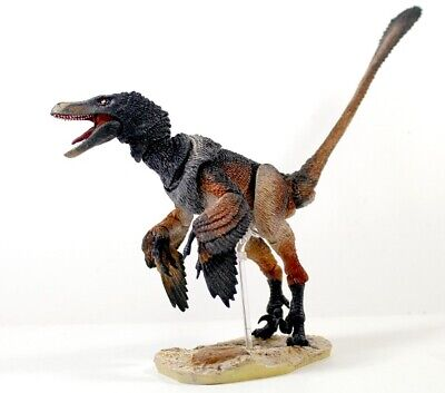 Velociraptor (Black) mongoliensis Articulated Dinosaur by Beasts of the Mesozoic