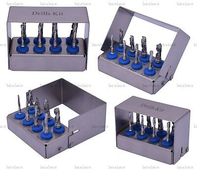 Chirurgical Kit Perçeuse Fraise Support Externe Irrigation Implant Outils