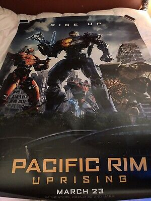 Pacific Rim 4x6 Bus Shelter DS Theatrical Used Edge Wear Looks Great!