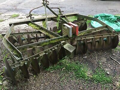 Tractor Mounted Cultivator Discs £550