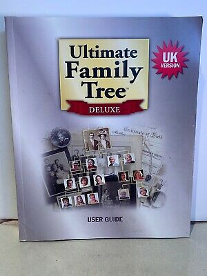 Ultimate Family Tree Deluxe User Guide - UK Version - 1998