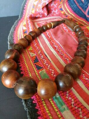 Old Chinese Horn Necklace …beautiful accent piece
