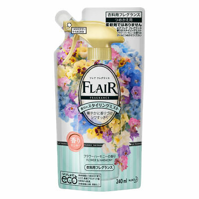Kao Japan FLAIR FRAGRANCE Mist Fabric Fragrance Flower & Harmony 240ml Refill