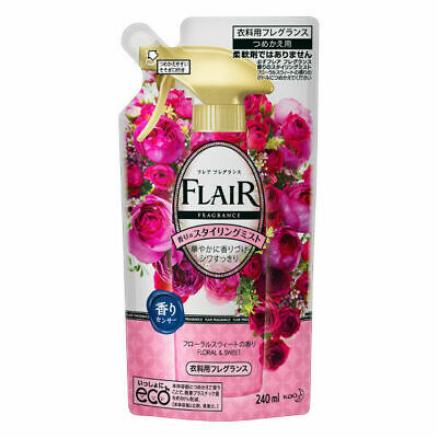 Kao Japan FLAIR FRAGRANCE Mist Fabric Fragrance Floral & Sweet 240ml Refill