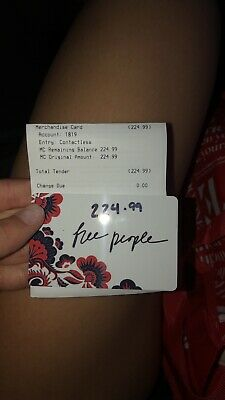 free people gift card