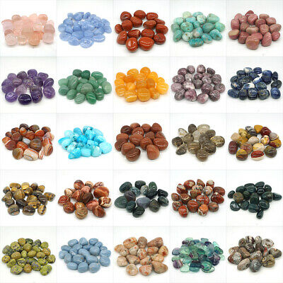 Mix Natural Gemstone Polished Tumbled Reiki Crystal Healing Energy Stone Wicca