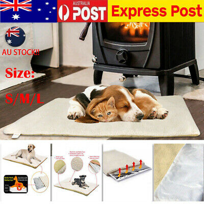 Self-Heating Pet Dog Mattress Bed Cushion Large Dog Cat Rug Thermal Winter Pads