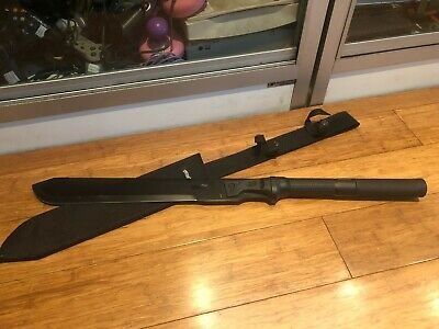 Walther Machtac 3 Machete In Sheath - Security - Home Defence - Aussie Stock !