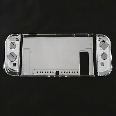 Crystal Case Cover Rubber Grip For Nintendo Switch Joy-Con Controller Pad Grip