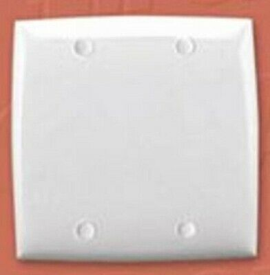 Clipsal STANDARD SERIES SQUARE FLUSH PLATE 116x116mm Blank, Thermoplastic BROWN