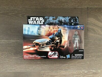 Star Wars Rebels Imperial Speeder & AT-DP Pilot Figure Rogue One Hasbro - NEW!