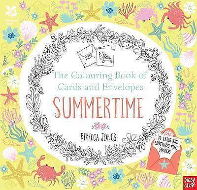 National Trust The Colouring Book of Cards and Envelopes Summertime by R Jones