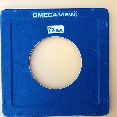 Omega View lens board, 77mm hole