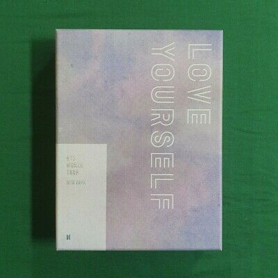[Pre-Owned/ No Photocard] BTS Love Your Self Tour New York DVD Genuine Kpop